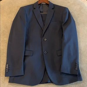 Men's Navy Suit 38Rx32